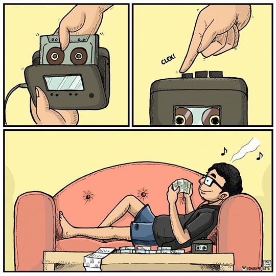 cool-webcomic-walkman-reading-couch