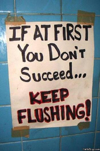 23 Funniest Bathroom Notes