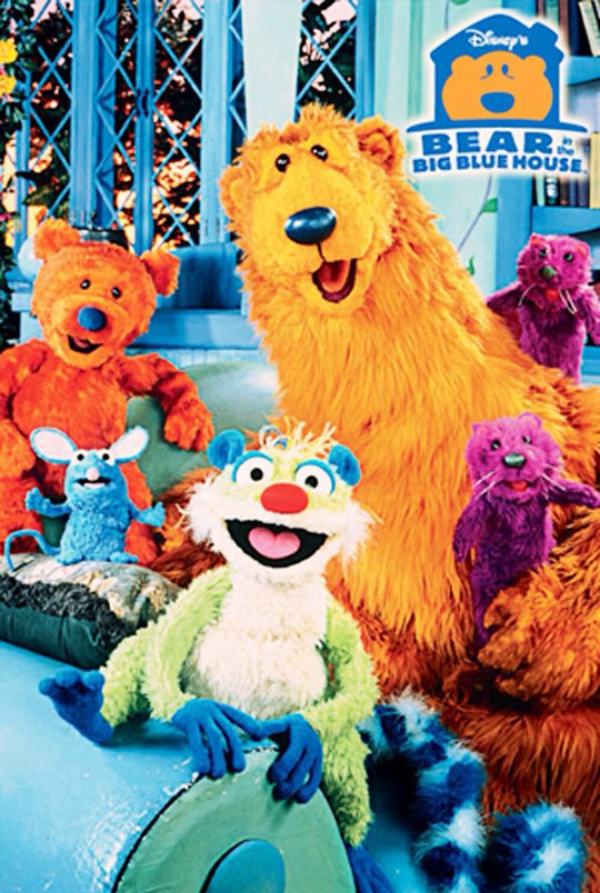 Who Else Misses The Bear In The Big Blue House?