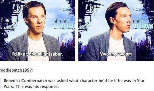 Benedict Is A Special Person