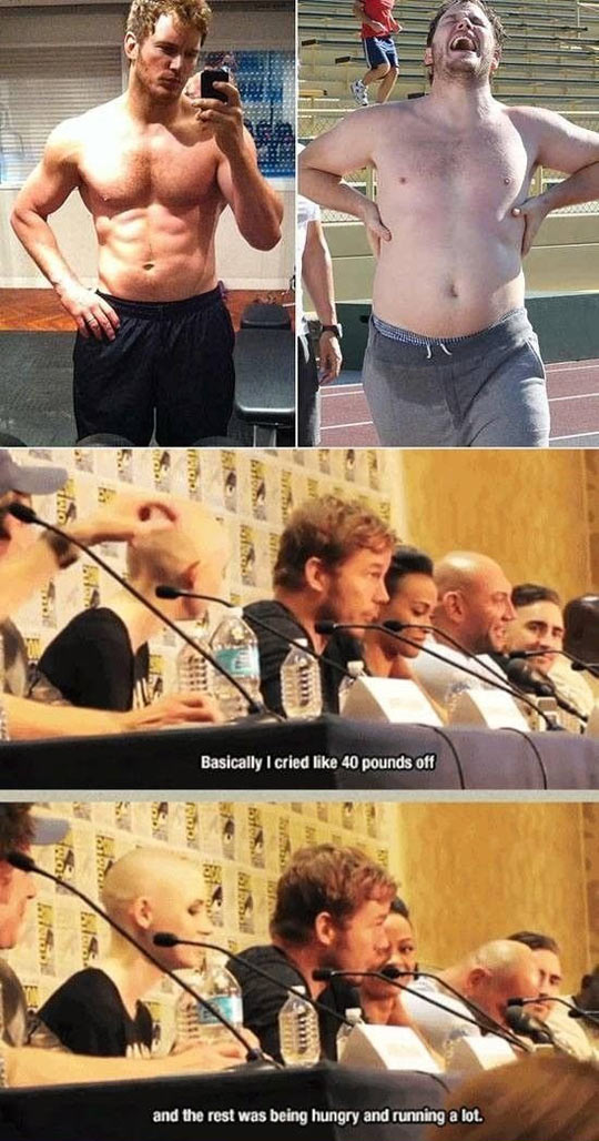 Losing Weight With Chris Pratt