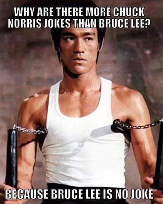 funny-Chuck-Norris-jokes-Bruce-Lee