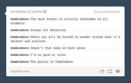 Awkward Dumbledore