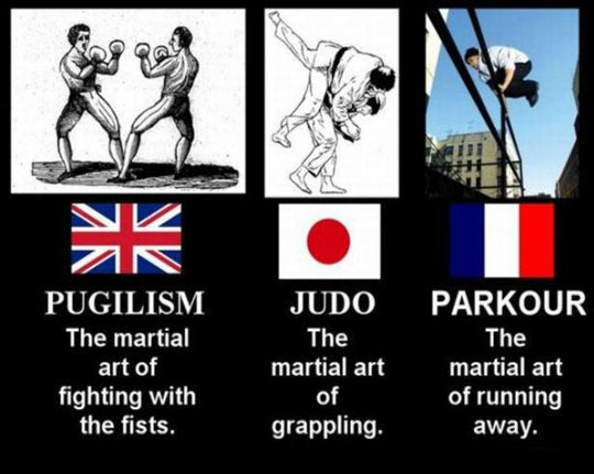 Every Country Has Its Martial Arts