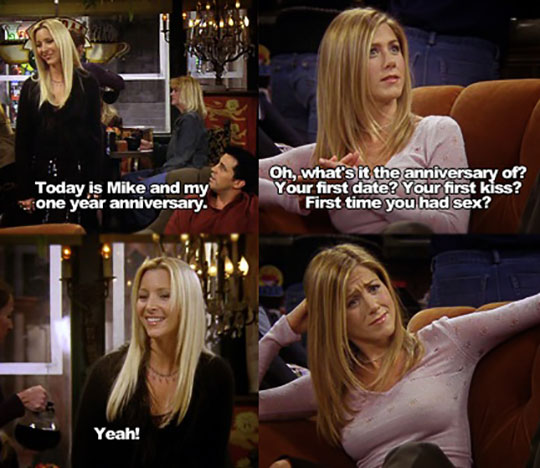 Phoebe Was Always My Favorite