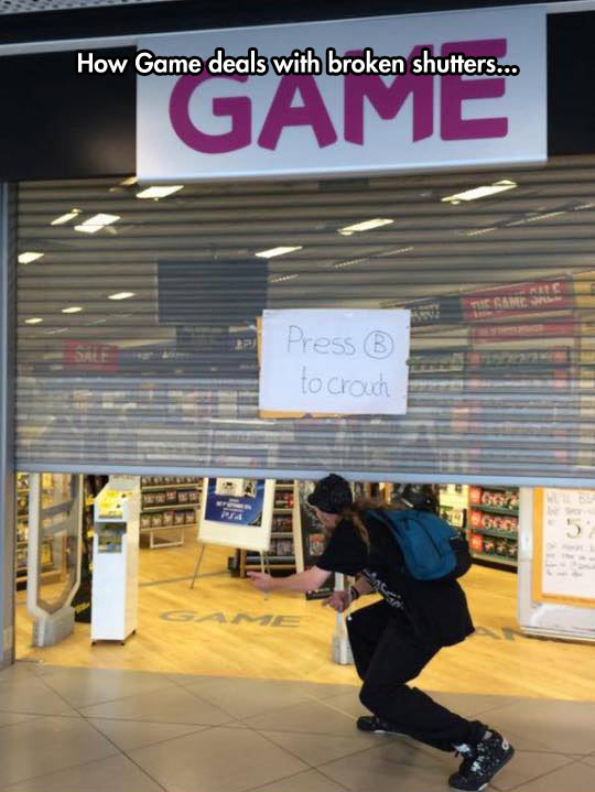 funny-Game-store-shutter-broken-message