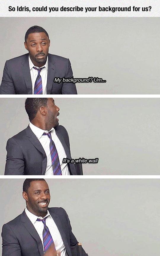 Idris Elba Is A Funny Guy