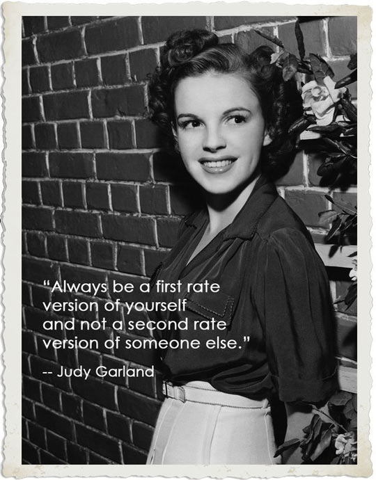 funny-Judy-Garland-first-rate-version-quote