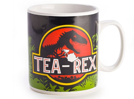 Awesome Jurassic Tea Mug