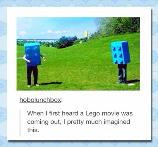 Lego Movie Misconceptions