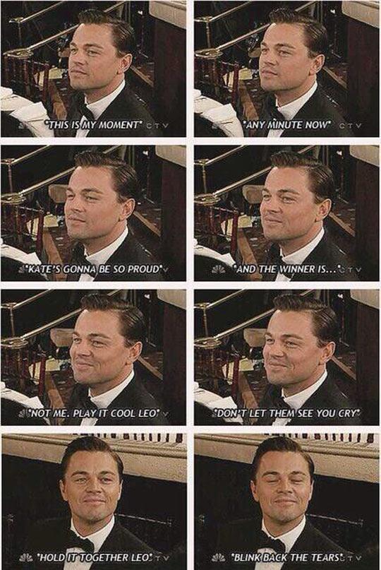 funny-Leo-DiCaprio-tears-smile-Oscar