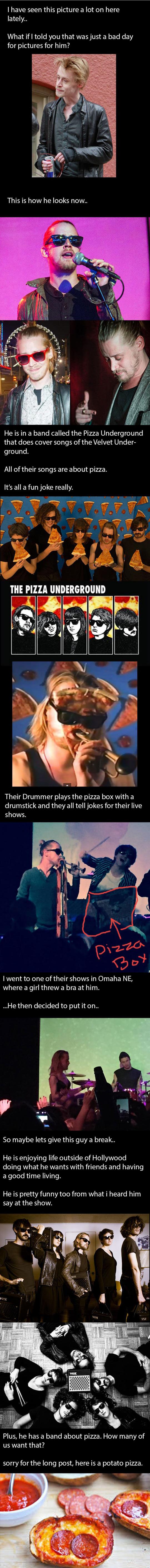 funny-Macaulay-Culkin-Pizza-Underground-band