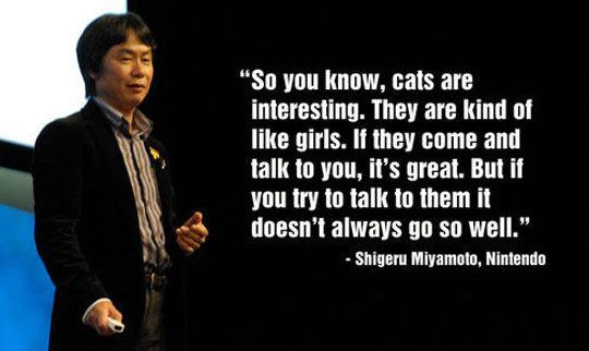 Miyamoto Explains Girls