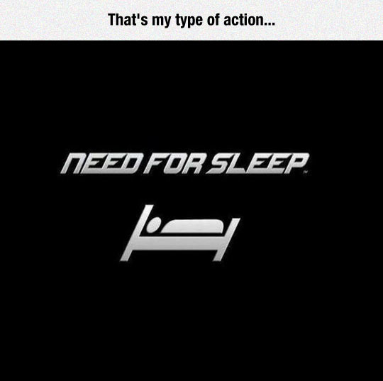 funny-Need-For-Speed-man-sleeping-bed