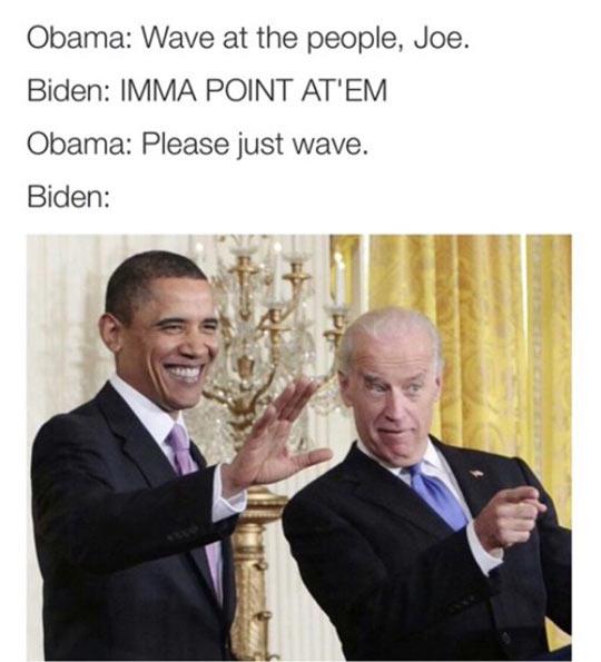 funny-Obama-Biden-waving-pointing