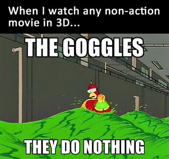 When 3D Glasses Don