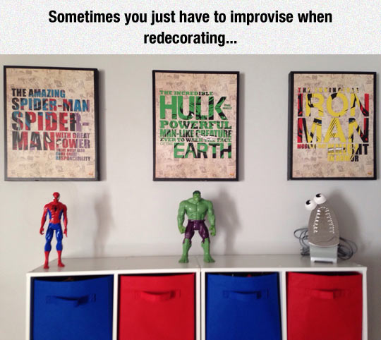 Marvel Decorations