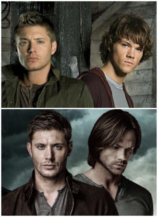 Supernatural Transformation From The First To The Last Season