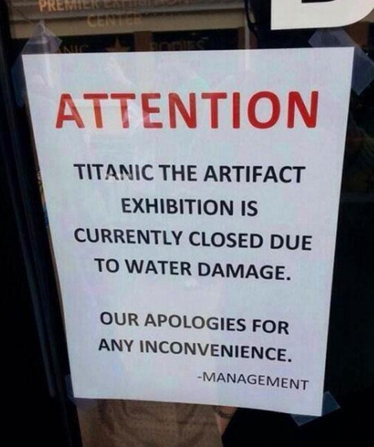 funny-Titanic-sign-artifact-exhibition