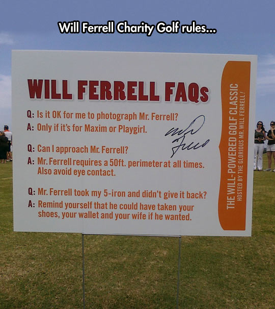 Will Ferrell Can Take Everything From You