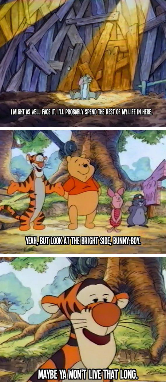Man, Tiger Was Really Morbid Sometimes
