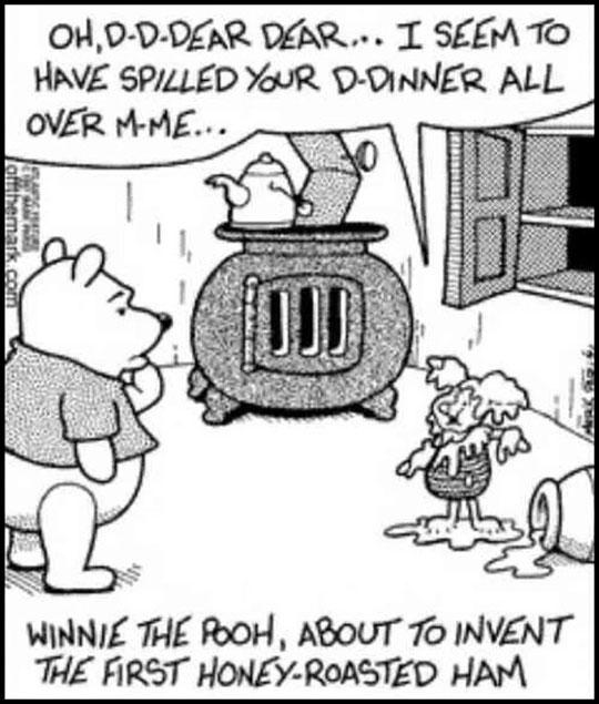 funny-Winnie-Pooh-roasted-ham-cartoon