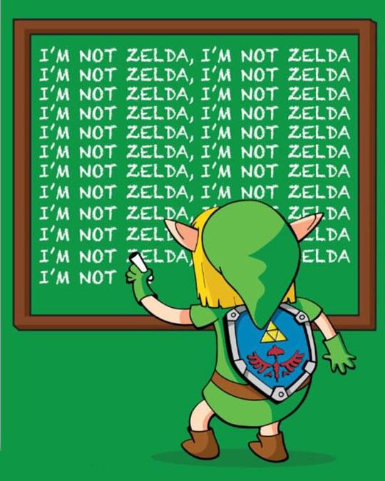 funny-Zelda-Link-chalk-writing
