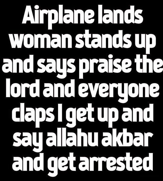 funny-airplane-lands-woman-praise-Muslim