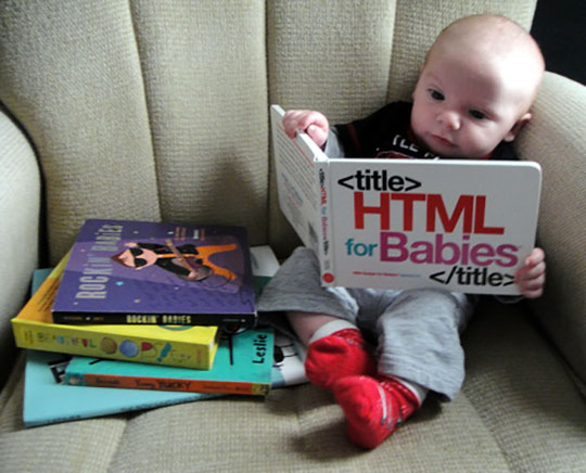 funny-baby-reading-book-HTML-couch