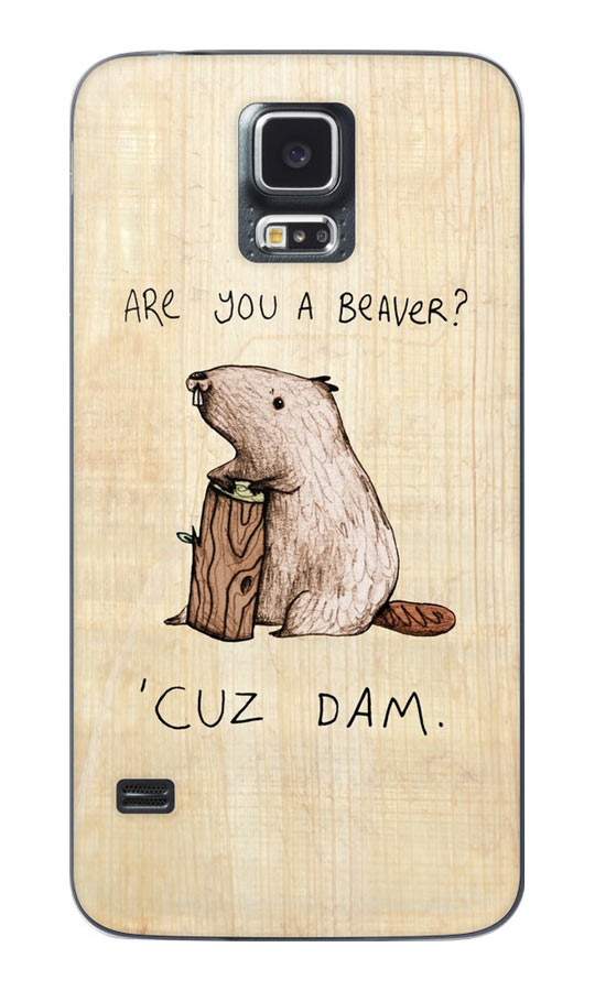 Awesome Beaver Phone Case