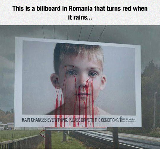 Very Dramatic Billboard
