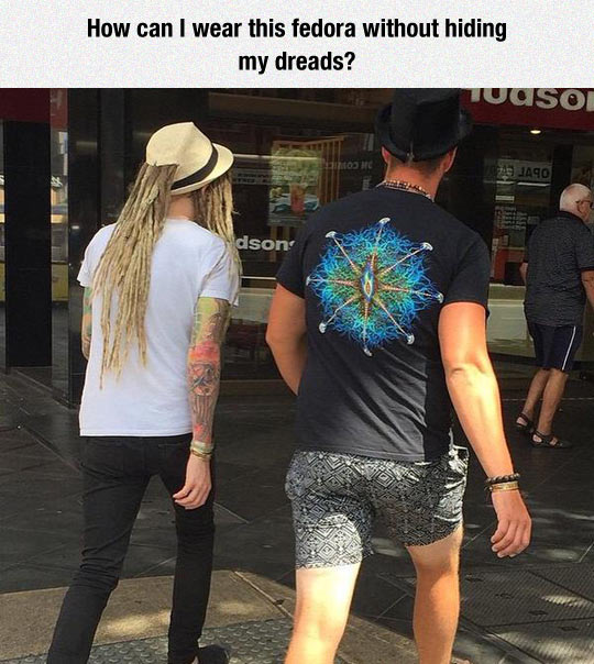 Never Hide Your Dreads