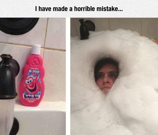 Go Easy With The Bubble Bath