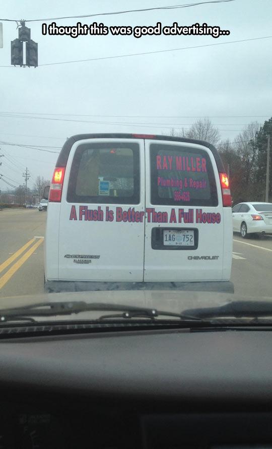 funny-car-plumber-advertising-flush