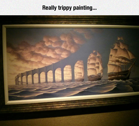 Beautiful And Surrealistic Painting
