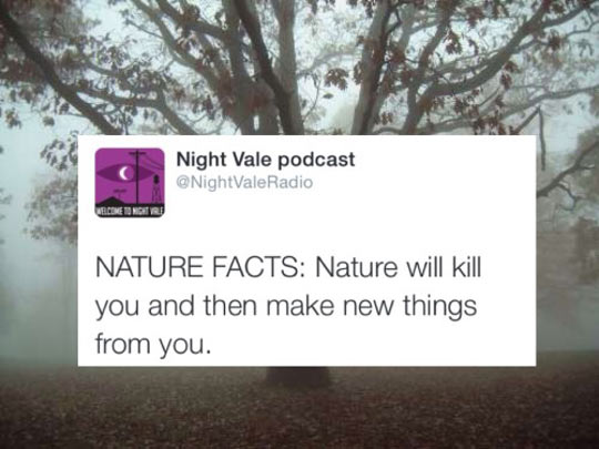 Nature Is Cruel
