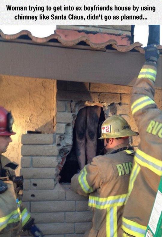 funny-girlfriend-trying-enter-chimney