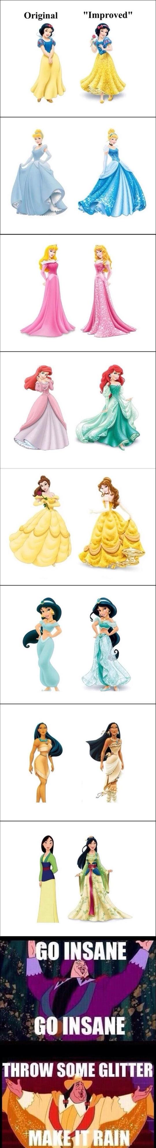 Improved Disney Princesses