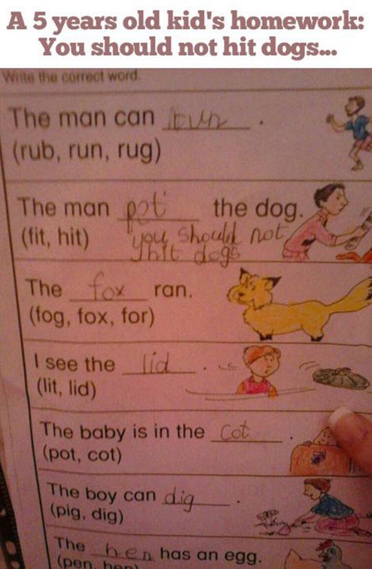 This Kid Has A Pretty Bright Future