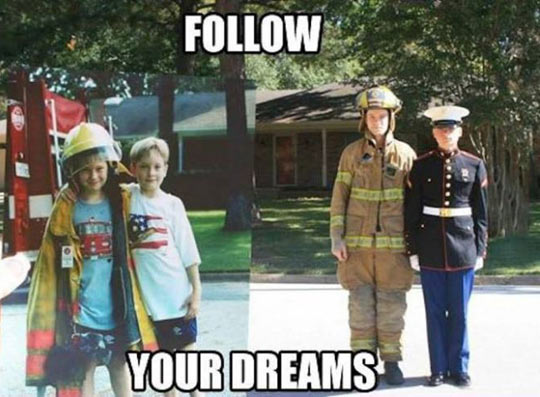 funny-kids-growing-professions-firefighter-police