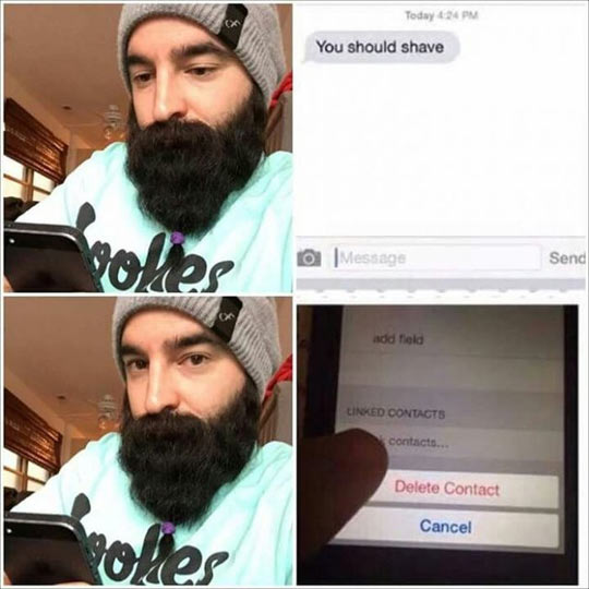 funny-man-shave-phone-contact-delete