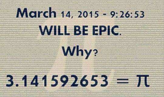 It Will Be Forever Remembered As Pi Day