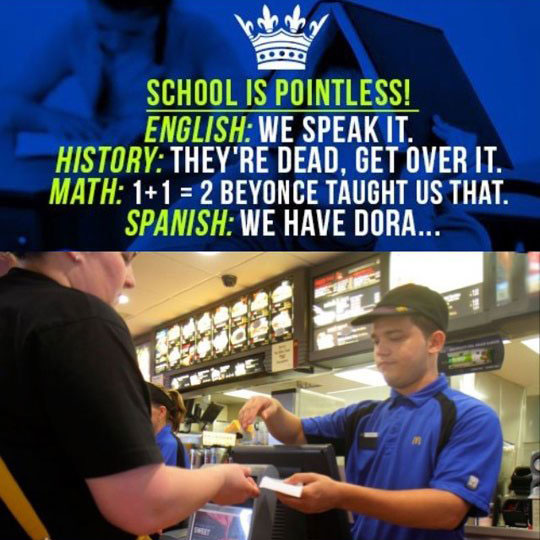 funny-pointless-school-McDonalds-cashier