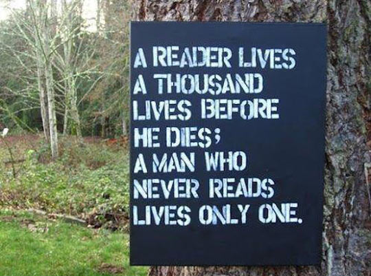 If You Want To Live More, Then Read