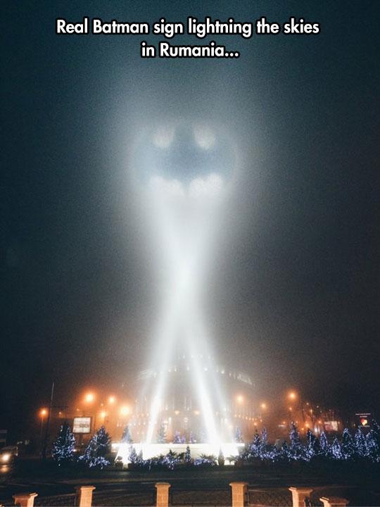 The Sign Gotham Deserves