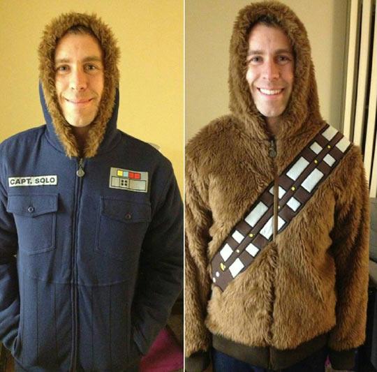 Han Solo/Chewbacca Reversible Jacket