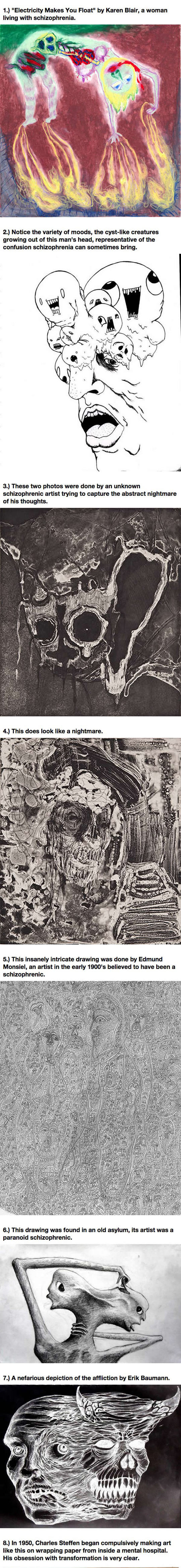 Art Made By People With Schizophrenia