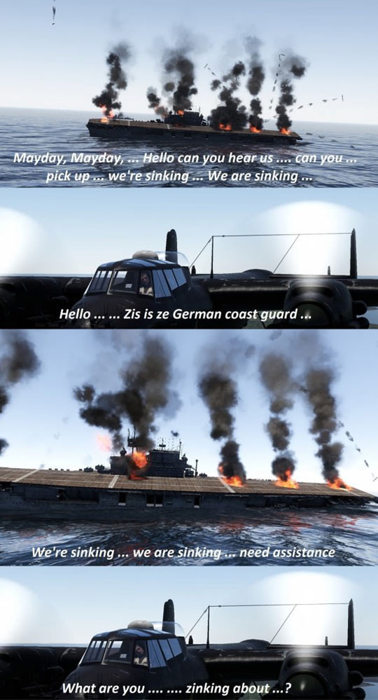 The German Coast Guard Biggest Problem