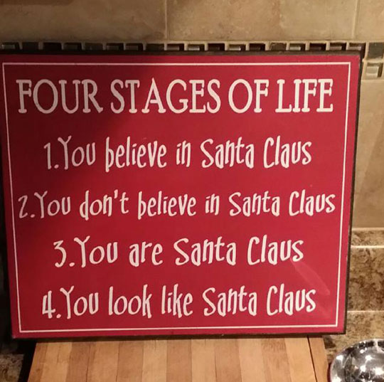 The Four Stages In Our Lives