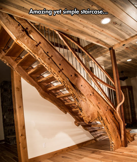 funny-staircase-wood-house-simple